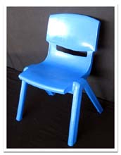 Childrens Chair - Blue - Hire